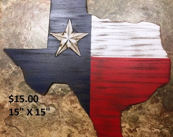 Rustic Texas Wall Art