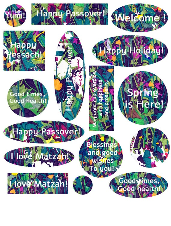 Passover greetings toppings m4hsunfo