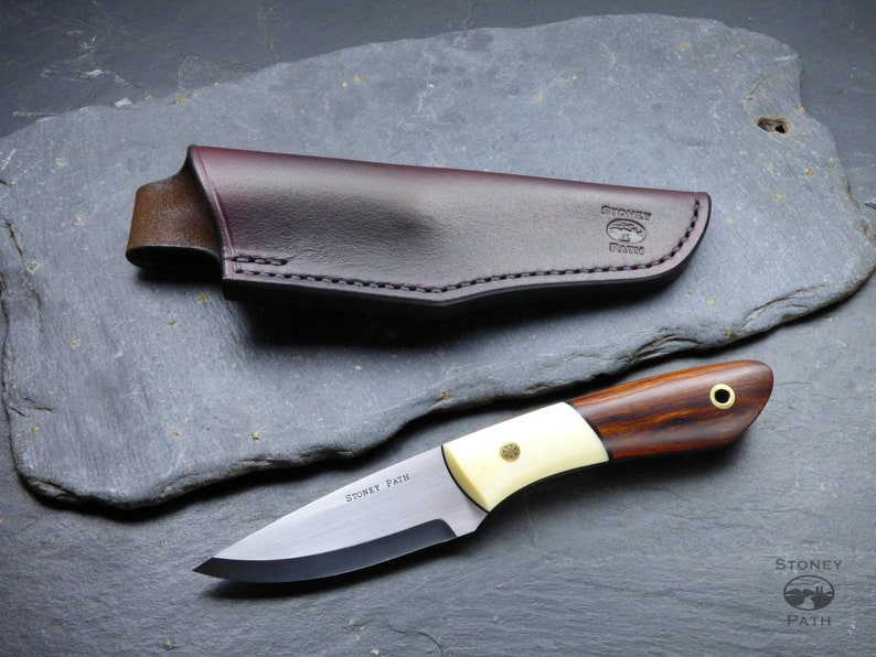 Bushcraft Knife Survival Knife Handmade Knife Desert Etsy