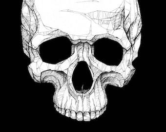 Skull - Art PRINT / Poster