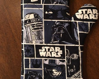 Star Wars Oven Mitt Fabric Home Decor