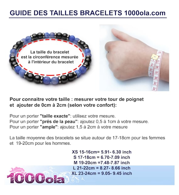 Bracelet menwomen jewelry natural beads \u00d8 6 mm Stone Brown wood natural obsidian black P42/_01