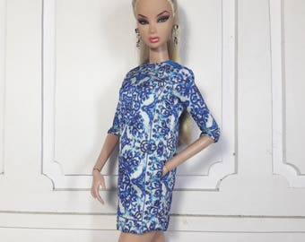 "BLUE CRUISE - Look 2 - Fashion for Fr2, Barbie, Silkstone and same size 12"" doll"