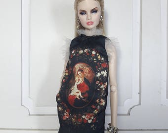 "BEAUTE DE BAROQUE - Look 1 - Fashion for Fr2, Barbie, Silkstone and same size 12"" doll"