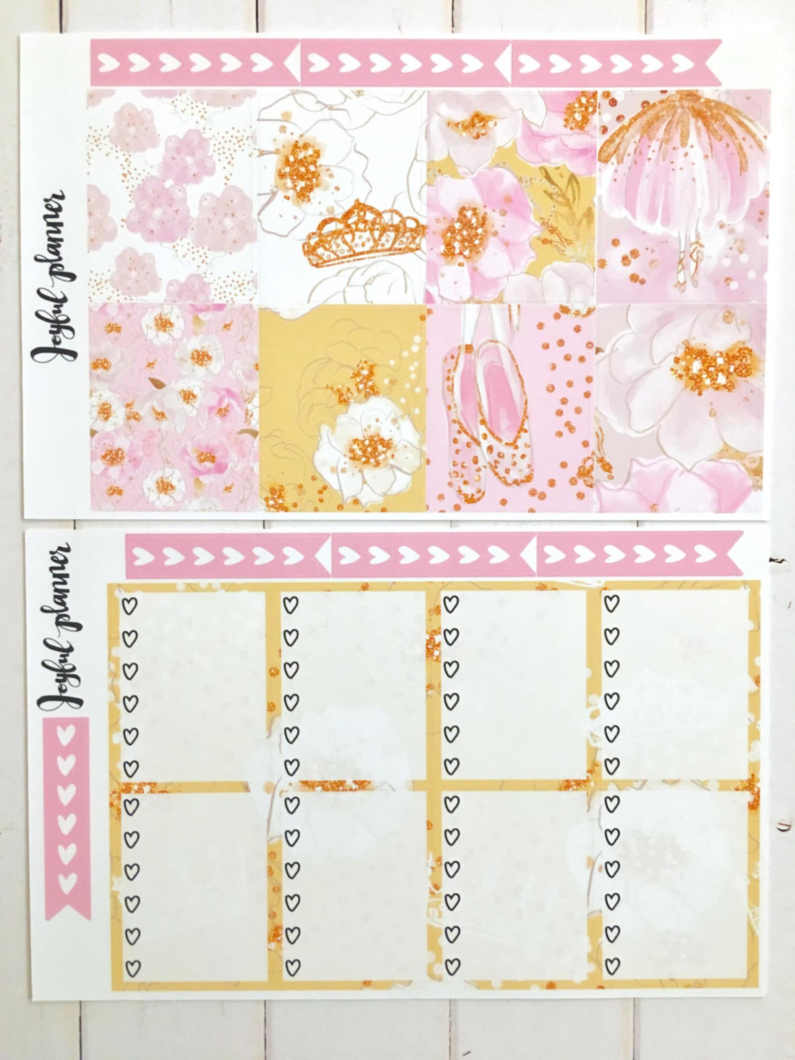 ballet planner stickers weekly kit for erin condren life planner eclp and mambi happy planner ready to ship!