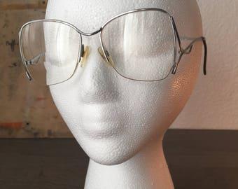 109449125 Vintage Women's Bifocal Sunglasses, Vintage 70's Eyewear Large Geometric  Secretary Eyeglasses