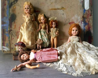 Antique Creepy Doll Collection