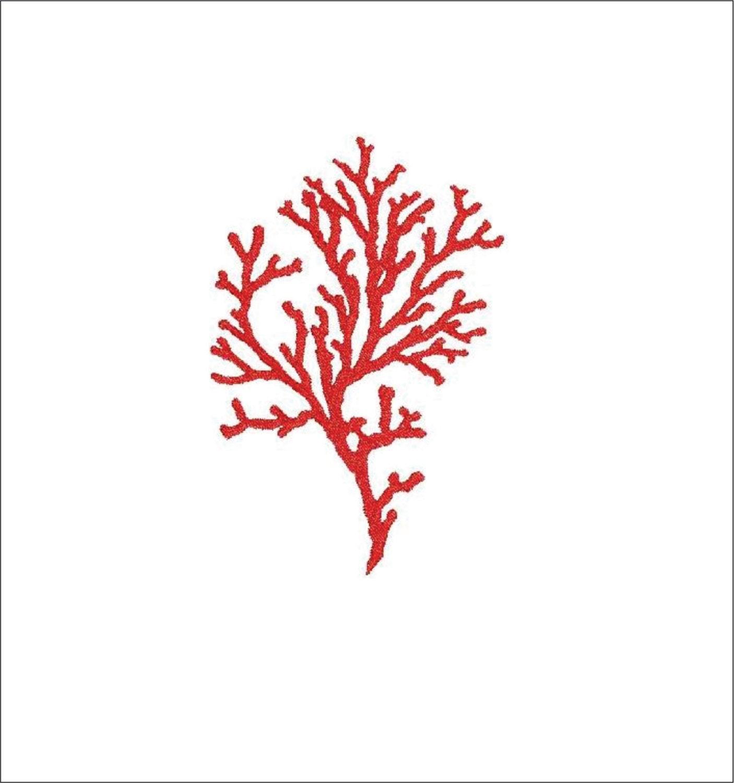Machine embroidery design coral reef corals sea summer marine | Etsy