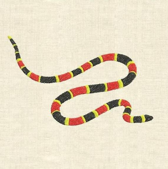 Machine à Broder Design Serpent Corail