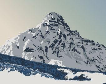 Mount Chephren - Canada