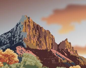 Sunset - Zion National Park