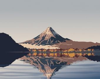 Autumn - Mount Fuji