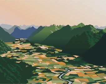 Bac Son Valley - Vietnam