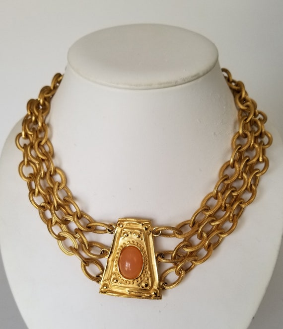 Givenchy Runway Necklace, Givenchy Triple Strand N