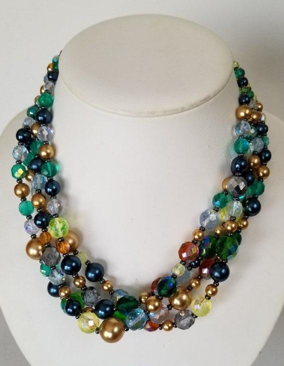 Joan Rivers 4 Strand Necklace, Joan Rivers Multist