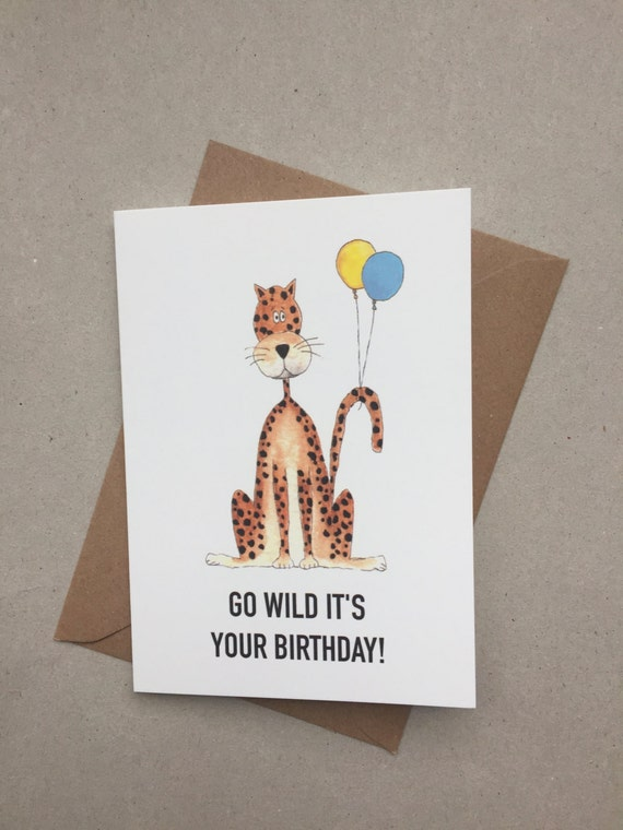 Hand Painted Birthday Card Greetings