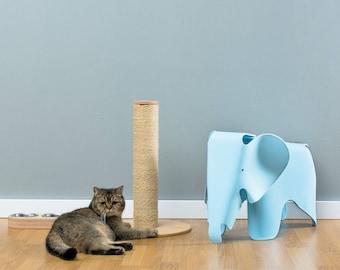 Sisal cat scratcher Loki Natural   WORLDWIDE SHIPPING   Modern Cat Furniture   Climb Tree   Shelf   Toy   Bed   House   Tower