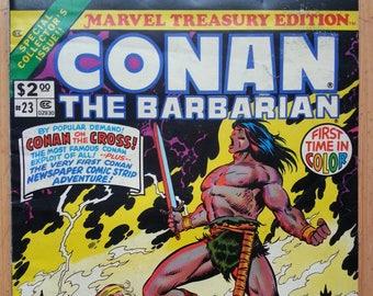 Conan the Barbarian Comic Book - Marvel Treasury Edition #23 - 1979