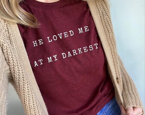 He loved me at my darkest // Cardinal