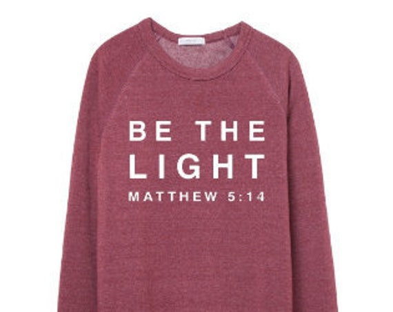 Be The Light // Currant Sweatshirt