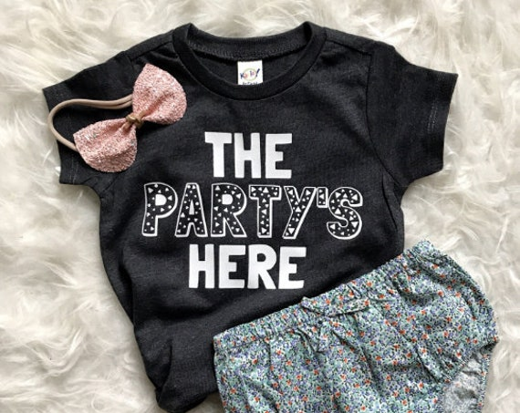 The Party's Here // Kids Tee