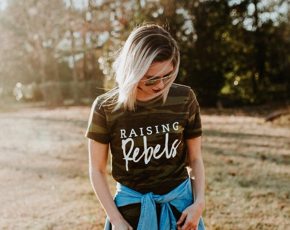 Raising Rebels // Camo