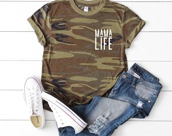 da5d114e04 Mom Life Shirt, Mom Shirt, Shirt For Mom, Mama Bear, Raising My Tribe, Women  Graphic Tee, Girl Mom Shirt, Boy Mom Shirt, Raising Rebels