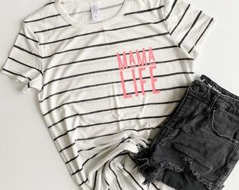 e8853badf Mom Life Shirt, Mom Shirt, Shirt For Mom, Mama Bear, Raising My Tribe,  Women Graphic Tee, Girl Mom Shirt, Boy Mom Shirt, Raising Rebels