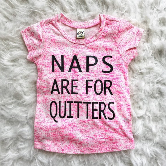Naps Are For Quitters // Pink Splatter