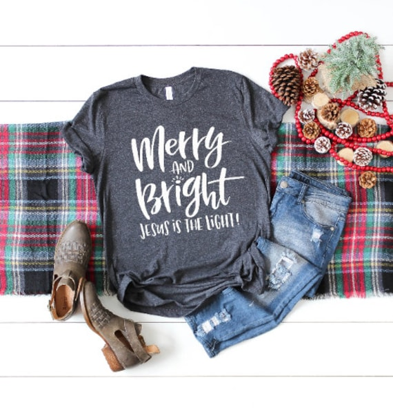 Merry and Bright // Dark Heather Grey
