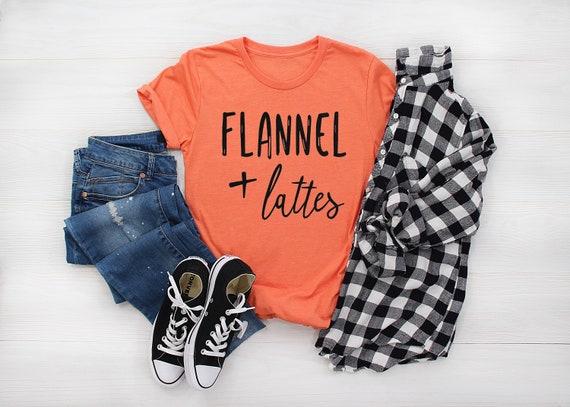 Flannel + Latte // Orange