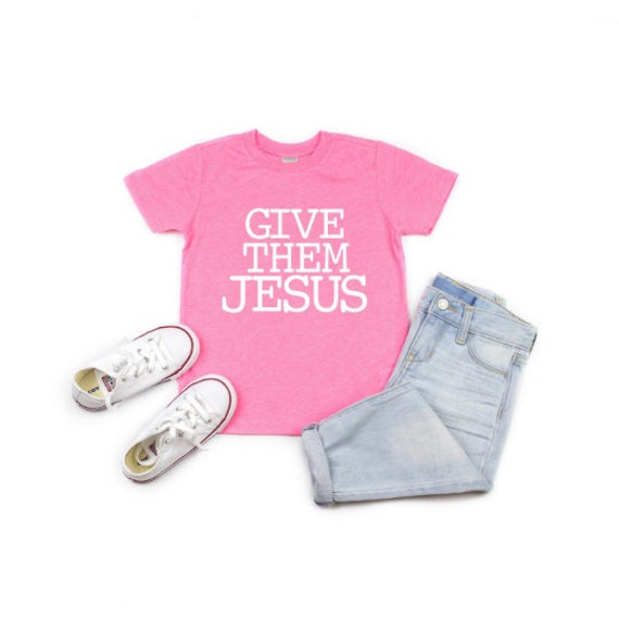 Give Them Jesus // Pink Flash