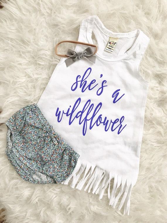 Wildflower // Fringe Dress