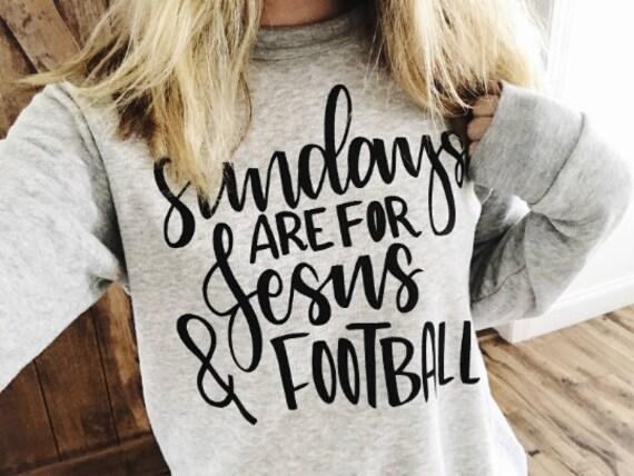Sundays, Jesus + Football // Sweatshirt