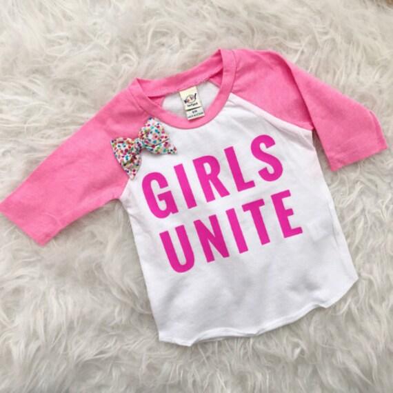 Girls Unite // Raglan