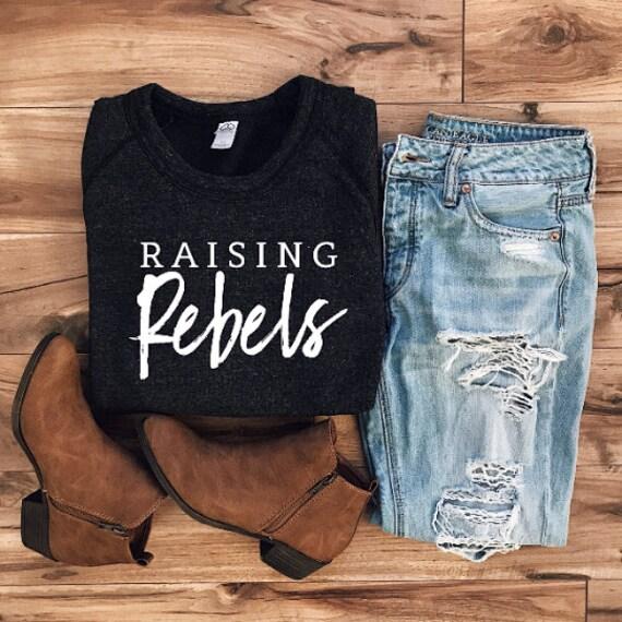 Raising Rebels // Black Sweatshirt