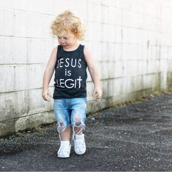 Jesus Is Legit // Kids Tank