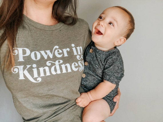 Power In Kindness // Olive Tee
