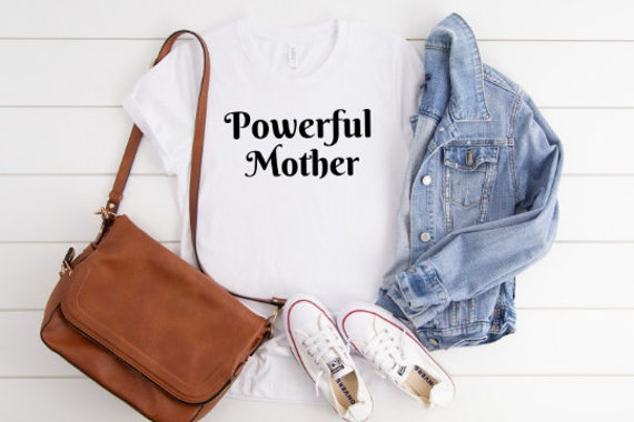 Powerful Mother // White Tee