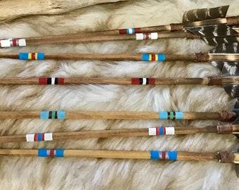 #8992 navajowhite 4 Mm Tube Perles 138st