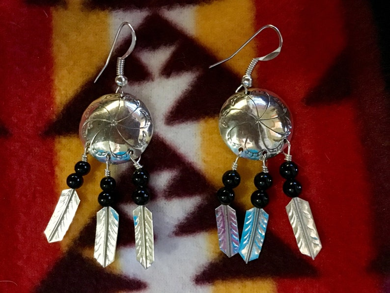 799f7faaf Vintage Native America Indian Jewelry Navajo Zuni Sterling   Etsy
