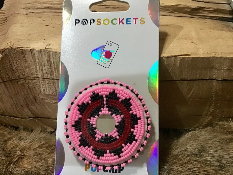 Authentic Native America Indian Jewelry Beaded Turtle Phone POP Up PopSocket Navajo Bead Southwest Phone Grip Stand Wedding Basket