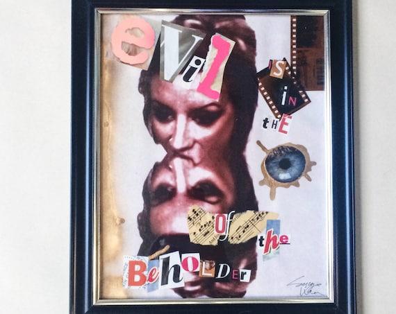"Eye of the Beholder: 9.5 x 11.5"""