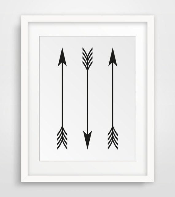 photograph relating to Arrow Printable known as Arrow Print, Black and White Prints, Arrow Decor, Printable Wall Artwork, Black and White Wall Artwork, Artwork Print, A few Arrows Art, Wall Decor