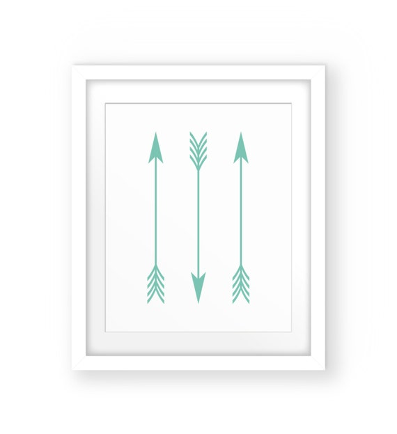 graphic regarding Printable Arrow known as Mint Nursery Decor, Mint Eco-friendly Decor, Arrow Print Nursery, Arrow Printable, Arrow Nursery, Mint Inexperienced Prints, Mint Arrows, Mint Decor