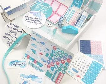 Live Love Inspire April Box, Stationery Box, Planner Supplies Box, Planner Accessories, Pens, Planner Stickers, Erin Condren Stickers