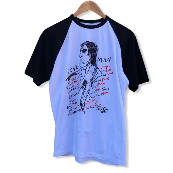1994 Nick Cave Lover Man Band Tee