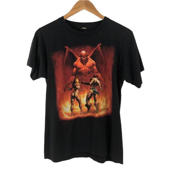 1986 Boris Vallejo Fantasy Art T-shirt