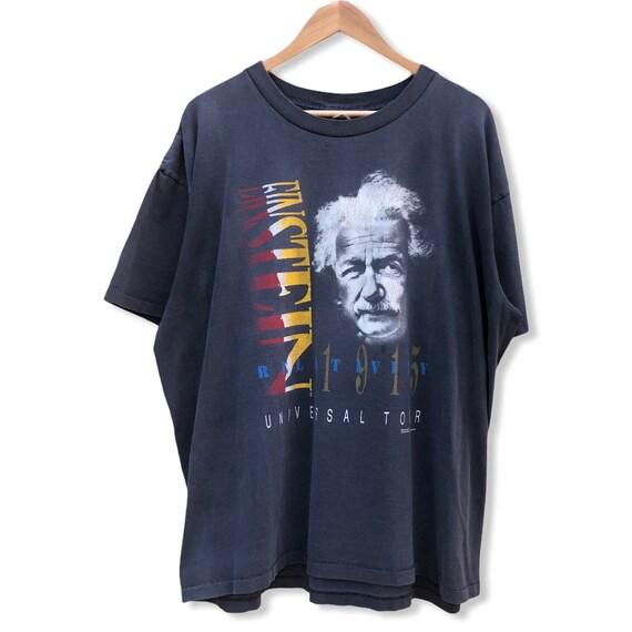 Albert Einstein Relativity Universal Tour Band Tee