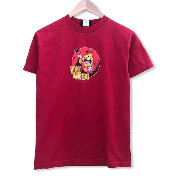 World Industries Flame Boy Skate T-shirt